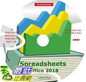 [7美國直購] 2018 amazon 亞馬遜暢銷軟體 Spreadsheet Excel Office Suite 2018 Works Home Student