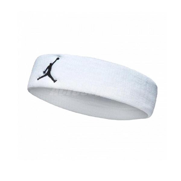 Nike Jordan Jumpman Headband 白色 黑色飛人 毛巾布 男女適用 髮帶 頭帶 【PUMP306】 JKN0010-1OS