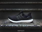 IMPACT Adidas Ultra Boost Black 全黑 慢跑 男女鞋 休閒鞋 經典 百搭 輕量 BA8842