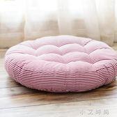 條紋坐墊現代簡約圓餐椅墊榻榻米地板墊座墊 小艾時尚.NMS