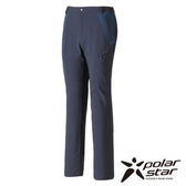 PolarStar 男 防潑水保暖多口袋褲 『黑藍』 P15421
