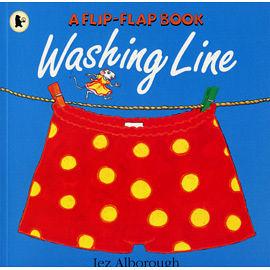 『繪本123‧吳敏蘭老師書單』--WASHING LINE /英文繪本