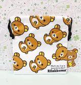 【震撼精品百貨】Rilakkuma San-X 拉拉熊懶懶熊~拉拉熊縮口袋-白滿版#19896