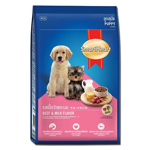 慧心犬糧-牛肉+牛奶口味幼犬配3kg【愛買】
