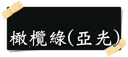 【漆寶】虹牌調合漆10號「橄欖綠(亞光)」(1加侖裝)