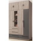 衣櫃 衣櫥 TV-18-34A 華沙5尺衣櫥【大眾家居舘】