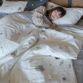 【預購】童話星球 S4單人床包+涼被3件組 100%精梳棉 台灣製 棉床本舖