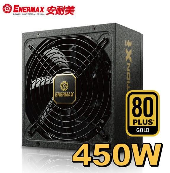 新竹【超人3C】保銳 ENERMAX 金牌 450W 電源供應器 金緻冰核II ERX450AWT