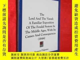 二手書博民逛書店The罕見Lord and the Vassal: A Fami