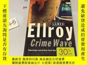 二手書博民逛書店英文原版:CRIME罕見WAVE》 翻譯:警網重重Y182979