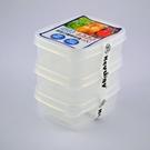長型巧麗密封盒3入/保鮮盒_台灣製