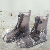 雨鞋套男女鞋套防水雨天防滑加厚耐磨成人下雨高筒戶外防雨雪腳套 童趣屋