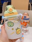 卡通ins玻璃杯高顏值可愛透明水杯子網紅小巧學生耐熱隨行杯防漏 【端午節特惠】