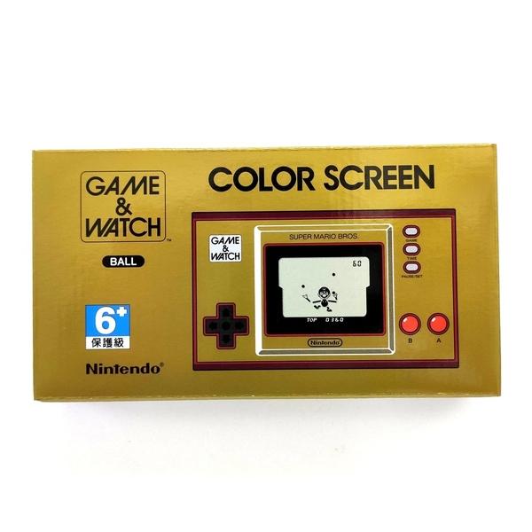 任天堂 GAME&WATCH 超級瑪利歐兄弟 35周年紀念版 限量版 掌上型 攜帶型 遊戲機 台灣公司貨