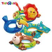 玩具反斗城 INTEX 可愛動物造型泳圈(72*66cm)