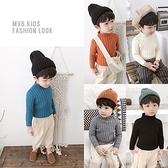 男童毛衣 套頭秋冬保暖寶寶休閒半高領毛衣
