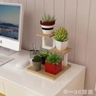 客廳臥室迷你小花架窄 鐵藝多層室內多功能...