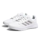ADIDAS 慢跑鞋 GALAXY 5 白灰 三線 網布 輕量 運動 女 (布魯克林) FW6126