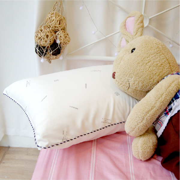 枕頭 - 抗菌防螨壓縮枕1入【高彈力 蓬鬆柔軟】日本大和防螨表布、優質填充、柔軟 MIT台灣製