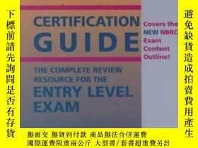 二手書博民逛書店Respiratory罕見Care Certification Guide: The Complete Revie