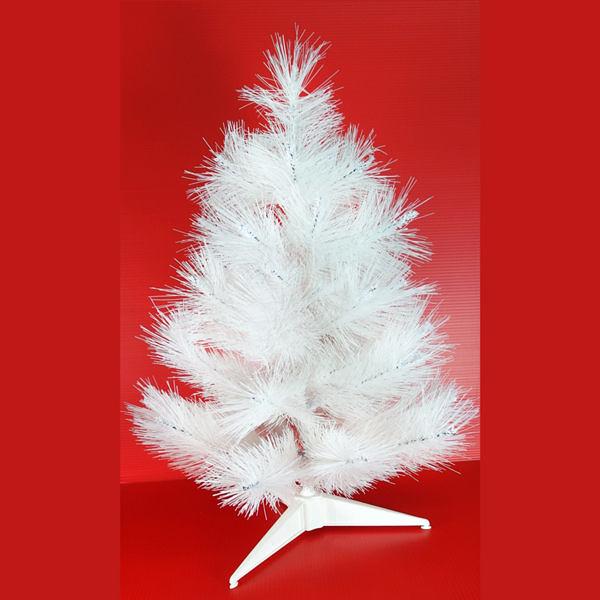 【摩達客】台灣製2尺/2呎(60cm)特級白色松針葉聖誕樹裸樹 (不含飾品)(不含燈)