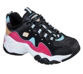 Skechers Dlites 3.0 [13378BBLP] 女鞋 運動 休閒 厚底 老爹 穿搭 流行 潮流 復古 黑