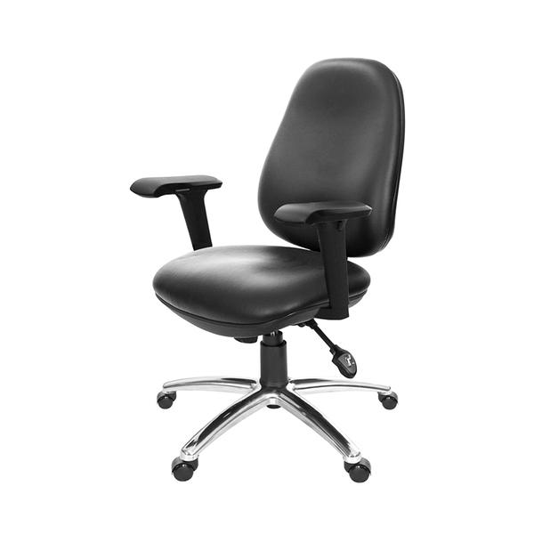 GXG 低背泡棉 電腦椅 (4D扶手/鋁腳) 型號8119 LU3