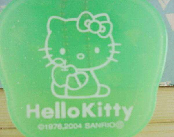【震撼精品百貨】Hello Kitty 凱蒂貓~KITTY空盒-綠蘋果