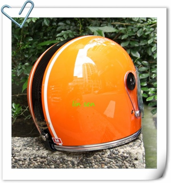 海鳥牌樂高帽,彩/橘白黑