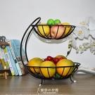果盤 多層水果籃客廳創意時尚果盤簡約中式現代奢華收納架多功能果盆 東京衣秀