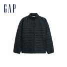 Gap 男裝 簡約純色輕薄款羽絨衣 47...
