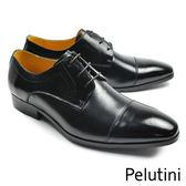 【Pelutini】Cap-Toe德比紳士鞋(7908-BL)