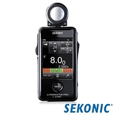 【南紡購物中心】SEKONIC L-478D 觸控式測光表(攝影/電影)