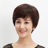 短假髮(真髮)-清爽自然微捲舒適女假髮73uu30[時尚巴黎]