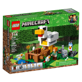 LEGO 樂高 Minecraft the Chicken Coop 21140 (198 Piece)