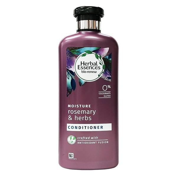 英國進口 Herbal Essences 迷迭香草本保濕潤髮乳 400ml
