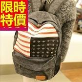 後背包-大容量雙肩時尚多用途男女帆布包5色59d50【巴黎精品】
