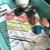 P透明彩色太陽鏡李小璐同款墨鏡男女士眼鏡潮 完美情人精品館