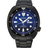 【台南 時代鐘錶 SEIKO】精工 Prospex 兩百米專業潛水機械錶 SRPD11J1@4R36-05H0SD 深藍/黑 44mm