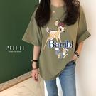 限量現貨◆PUFII-上衣 正韓小鹿與兔...