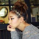 ※現貨 玫瑰花紋甜美髮帶【VM47054】