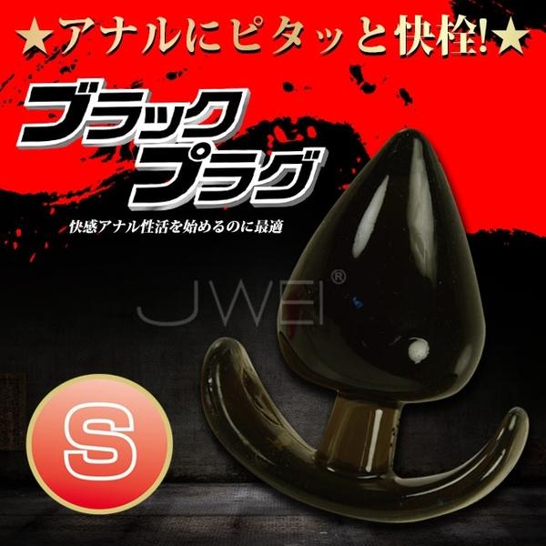 傳說情趣~日本原裝進口NPG.ブラックプラグ水滴型手柄後庭塞-S