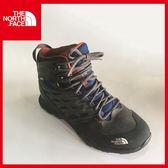【The North Face 男 GT中筒登山鞋《地球藍/磚瓦紅》】CDF5/登山/健行