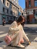 毛衣洋裝 法式針織小香風減齡打底長裙年新款女裝毛衣裙連身裙子秋冬季 新品