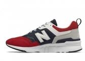 New Balance 男款藍紅經典復刻休閒鞋-NO.CM997HEA