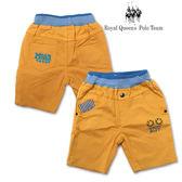 兒童黃色平織短褲 RQ POLO 小童春夏款 [8091]