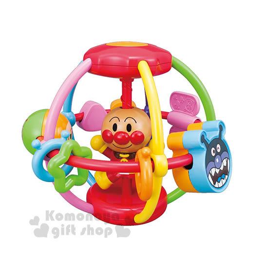 〔小禮堂嬰幼館〕麵包超人 球形玩具《橘盒裝.張雙手》適合7個月以上兒童4971404-31234