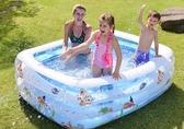 嬰兒童遊泳池充氣家庭嬰兒成人家用海洋球池加厚超大號戲水池 錢夫人小鋪