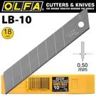 【奇奇文具】OLFA LB-10大美工刀片 10片入
