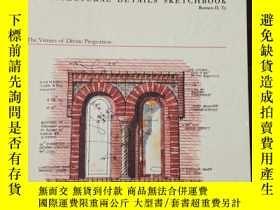 二手書博民逛書店ARCHITECTURAL罕見DETAILS SKETCHBOOK(英文原版)Y208076 Romeo D.